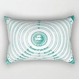 The Crystalline Spheres of Ptolemy Rectangular Pillow