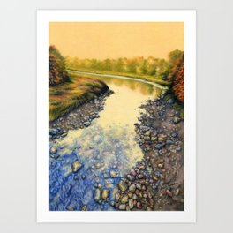 Up A Creek Art Print