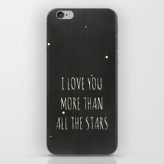 More Than All the Stars iPhone & iPod Skin