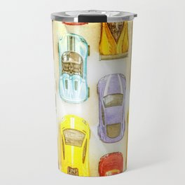 Vintage Toy Cars Travel Mug