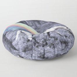 Chasing the Unicorn Floor Pillow