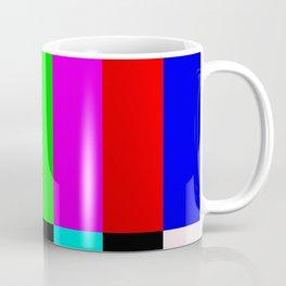 No Signal TV Coffee Mug