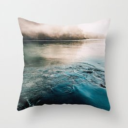 Vortices of Deception Pass State Park, WA Pacific Northwest Throw Pillow