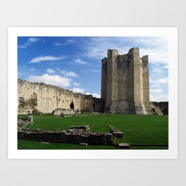 Conisborough Keep Art Print