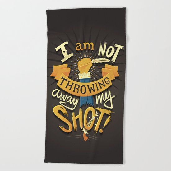 My Shot Beach Towel