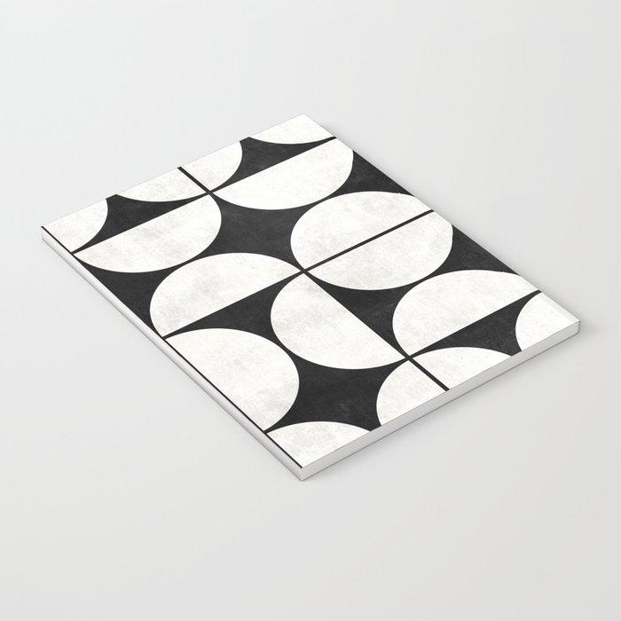 Mid-Century Modern Pattern No.2 - Concrete Notebook