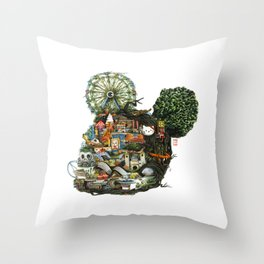 Nest iii Throw Pillow