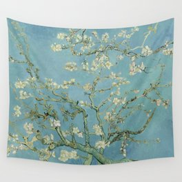 Almond Blossoms Wall Tapestry
