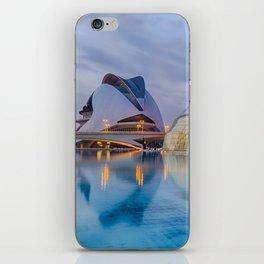 C A L A T R A V A | architect | City of Arts and Sciences III iPhone Skin