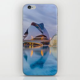 CALATRAVA | architect ARCHITECTURE | City of Arts and Sciences III iPhone Skin