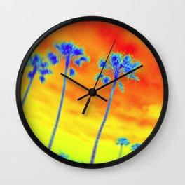 SoCal Spun Wall Clock
