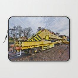 Railway crane Laptop Sleeve