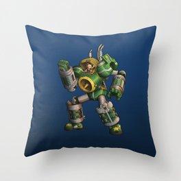 Baby Commando Throw Pillow