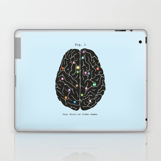 Your Brain On Video Games Laptop & iPad Skin