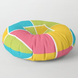 Color Block_Candy Party Floor Pillow