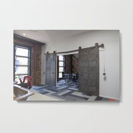 Boardroom - New and old Metal Print