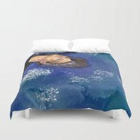 clear Duvet Covers featuring CLEAR by Dash of noir