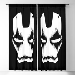 Black Iron Blackout Curtain
