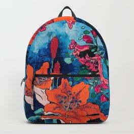 Blooming Night Garden: Twilight Backpack