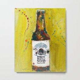 Spider Bite Beer Co. Metal Print