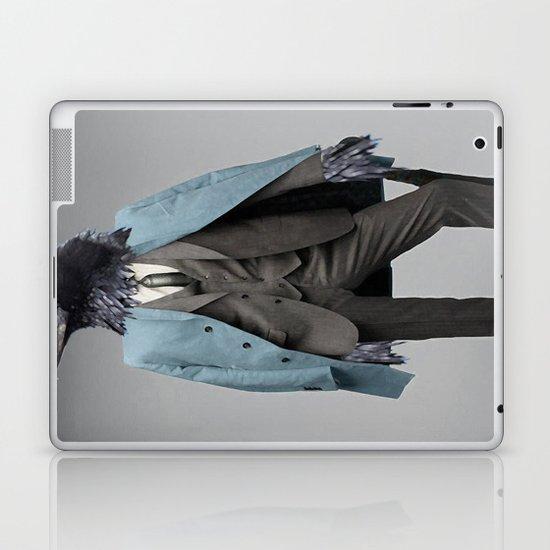 dapper crow Laptop & iPad Skin