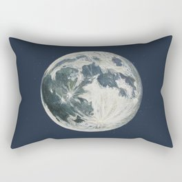 Moon Portrait 3 Rectangular Pillow