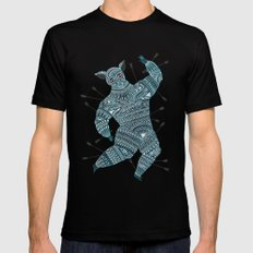 Warrior Mens Fitted Tee Black LARGE