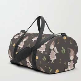 Woodland Nymph - Brown Duffle Bag