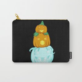 Stacked Patch Carry-All Pouch