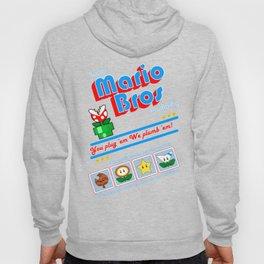 Super Mario Bros Plumbing Hoody