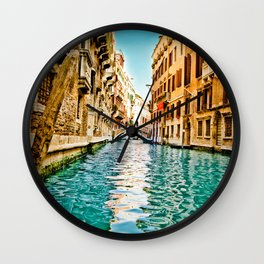 Streets of Venice Wall Clock
