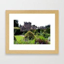 Glamis Castle  Framed Art Print