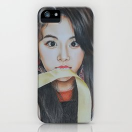 Kpop Twice cheayoung Fanart iPhone Case