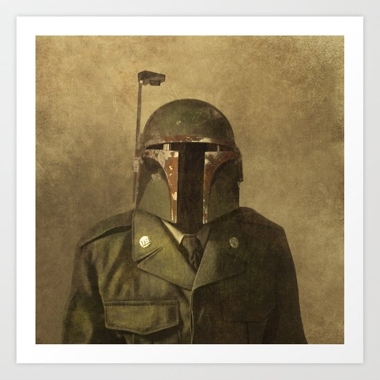 General Fettson  - square format Art Print