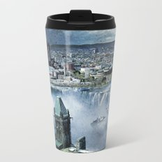 Earth Falls Away Metal Travel Mug