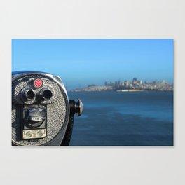 View, San Francisco  Canvas Print