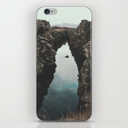 I left my heart in Iceland - landscape photography iPhone Skin