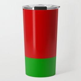 Flag of Belarus Travel Mug