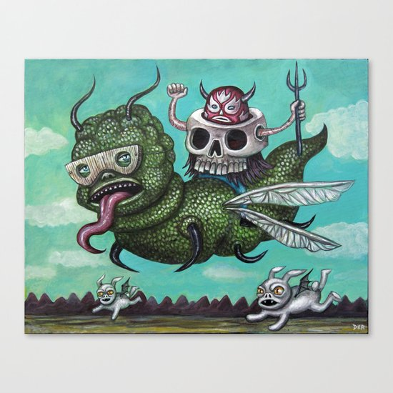Ride of the Valkyrie Canvas Print