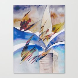 Diving Swifts Canvas Print