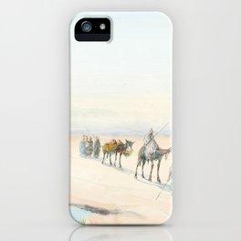 Vincent Manago. Pair of Orientalism gouaches iPhone Case