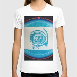Russian Cosmonaut Poster T-shirt