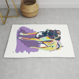 Color Puggle Bruce Rug
