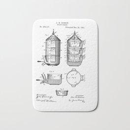 Hobson Steam cooker 1891 patent art #patent Bath Mat