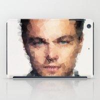leonardo dicaprio iPad Cases featuring Leonardo DiCaprio by lauramaahs