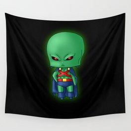 Chibi Martian Manhunter Wall Tapestry