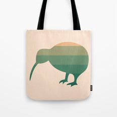 Kiwi Ombre - Peach Green Tea Tote Bag