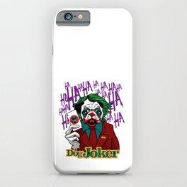 Dog Joker iPhone Case