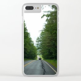 To Destinations Unknown Clear iPhone Case