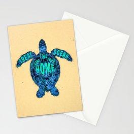 ocean omega Stationery Cards